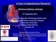 A Year in Hypertension Research
