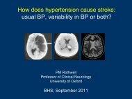 usual BP variability in BP or both?