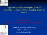 First Year Transfer Report Aortic Stiffness and Wave - British ...