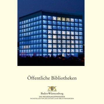 Öffentliche Bibliotheken - Regierungspräsidium Karlsruhe