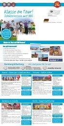 Beratung & Buchung - BBS Reisen