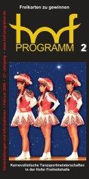 EITE - Hof Programm