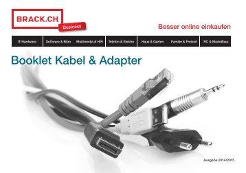 Booklet Kabel & Adapter