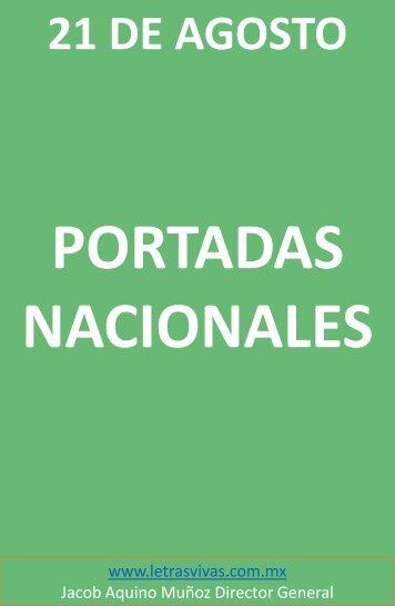 PORTADAS NACIONALES