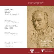 Rudolf Kurz - Kunstverein Ellwangen