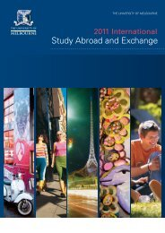 Study Abroad and Exchange