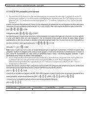 01/10/02 2F PNI probabilità primi elementi