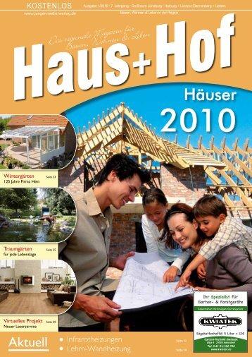 """""""Haus+Hof"""", Ausgabe 01-2010 - Andrea Schröder-Ehlers"""