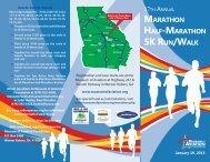 marathon half-marathon 5k run/walk - Museum of Aviation