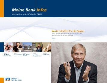 Meine Bank Infos - Zevener Volksbank eG