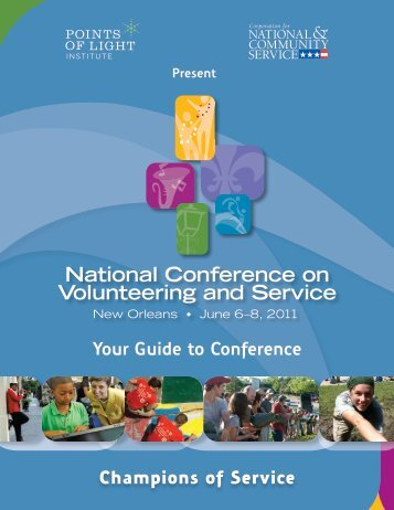 Champions of Service Your Guide to Conference - National ...