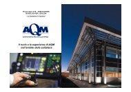 Il ruolo e le esperienze di AQM nell'ambito della saldatura