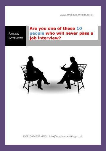 job interview?