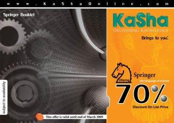 Final Catalogue - KaSha