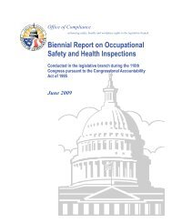 Biennial Report on Occupational Safety and Health Inspections