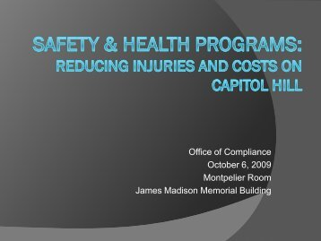 View PDF - Office of Compliance