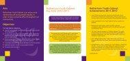 Rotherham Youth Cabinet Manifesto 2012 - RGFL