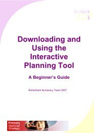 Downloading and Using the Interactive Planning Tool