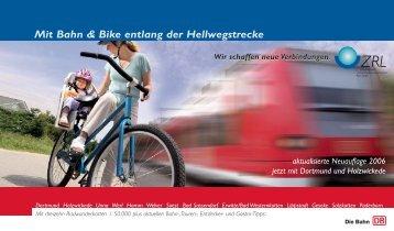 Mit Bahn & Bike entlang der Hellwegstrecke - ZRL