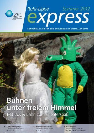 """Der """"Ruhr-Lippe express"""" - ZRL"""