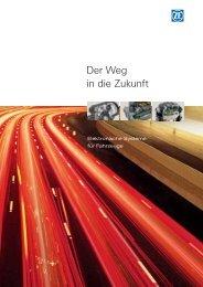 Der Weg in die Zukunft - (PDF, 995 KB - ZF Friedrichshafen AG