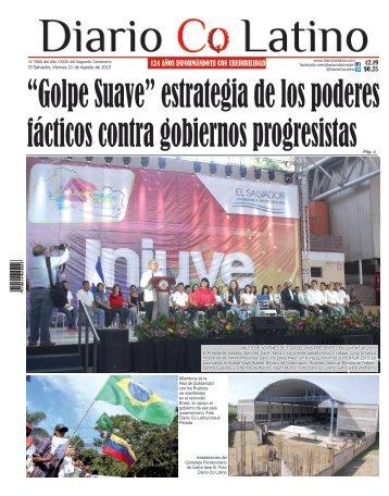 Edición 21 de Agosto de 2015