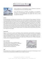 60126_Hotel Bi Hof_Factsheet.indd - Hotel Bielefelder Hof