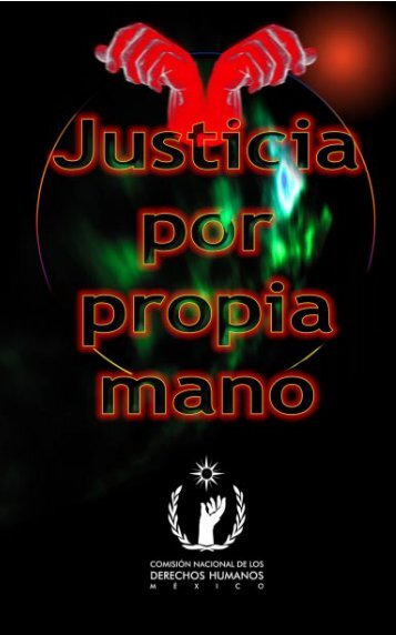 JUSTICIA POR PROPIA MANO