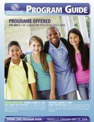 Spring Program Guide 2009 - Boys & Girls Clubs