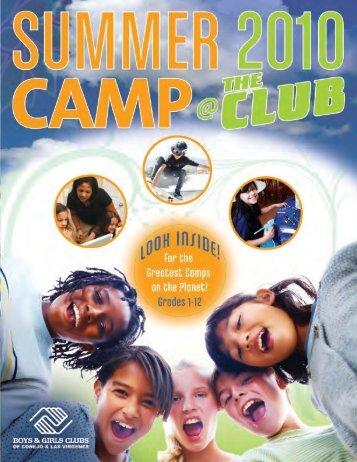 Summer Camp 2010 - Boys & Girls Clubs