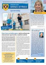 Zpravodaj MČ Brno-střed 6/2013 (červen)