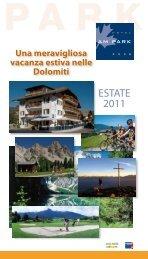 Prezzi estate 2011 - Hotel am Park
