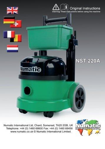 233858 NST 220A european.indd 1 09/06/2011 10:50:30