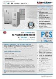 PCS H SERIES - THREE PHASE - 6 to 500 kVA - Ashley-Edison UK
