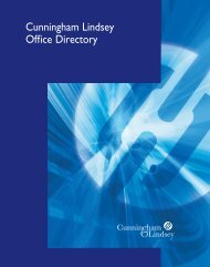 Cunningham Lindsey Office Directory