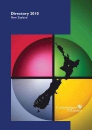Directory 2010 - Cunningham Lindsey