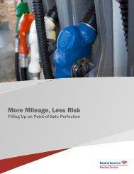 More Mileage Less Risk
