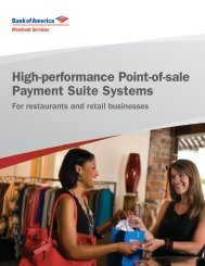 High-performance Point-of-sale Payment Suite Systems