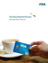 Visa Easy Payment Service