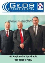 VIII Regionalne Spotkanie Przedsiębiorców