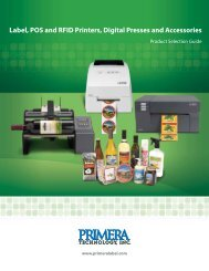 Label POS and RFID Printers Digital Presses and Accessories