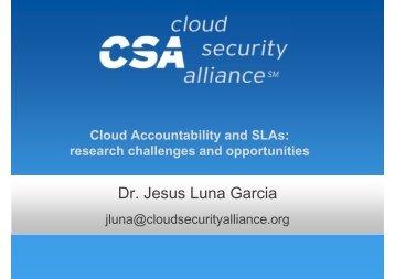 Dr Jesus Luna Garcia