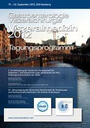 wir stellen vor: sonicision - Viszeralmedizin 2012