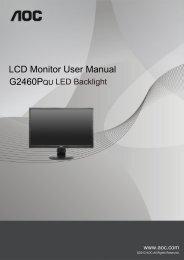 LCDMonitorUserManual G2460PQU