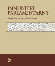 Immunitet parlamentarny