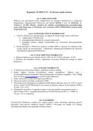 regulamin plebiscyt pupil pazdz - WM.pl