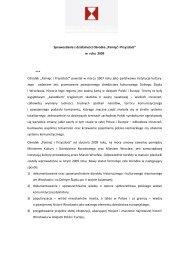 Sprawozdanie roczne 2009.pdf 166,55 kB - Ośrodek Pamięć i ...