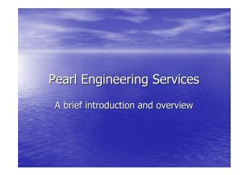 Pearl Engineering Services