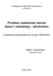 Problem uzależnień wśród dzieci i młodzieży - alkoholizm