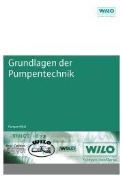 Grundlagen der Pumpentechnik - Wilo